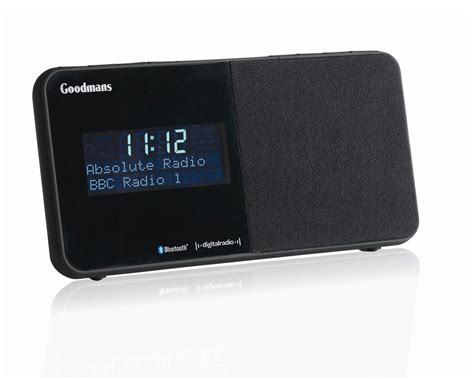 Digital Alarm Clock goodmans gcr1888dabbt digital alarm clock radio
