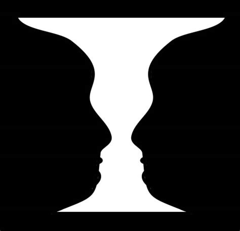 Two Faces Or A Vase by Vase Illusion Pictures Photos Images Of