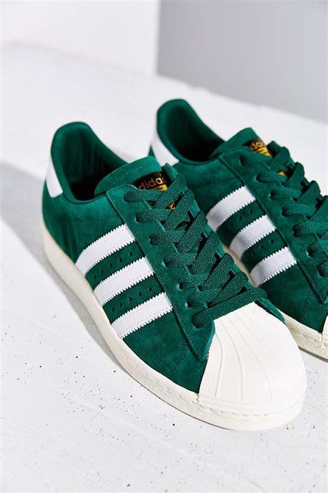 Adidas Superstar Suede Greenwhite Original adidas superstar green suede smufjallgard nu