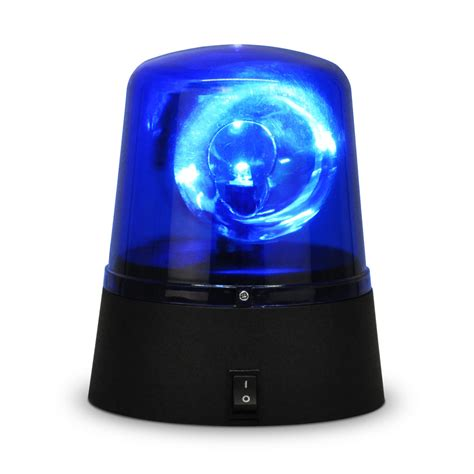 Novelty Flashing Blue Battery Powered Led Police Disco Novelty Lights Uk