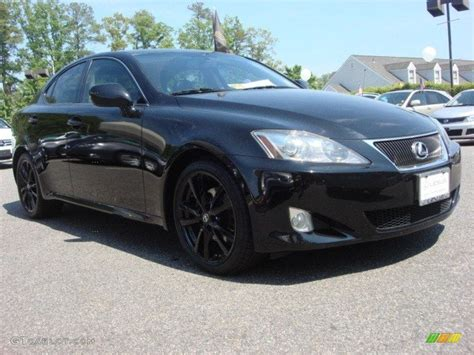 2008 lexus is 250 black 2008 obsidian black lexus is 250 64663292 gtcarlot