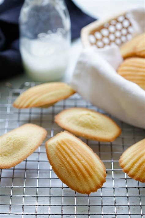 madeleine recipe eggs the edge and cookies