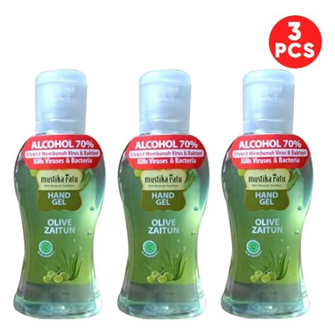 mustika ratu hand sanitizer  ml pcs anti bacterial alcohol  ilotte