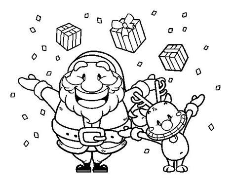 imagenes animadas de navidad para colorear dibujos de navidad animados para colorear dibujos