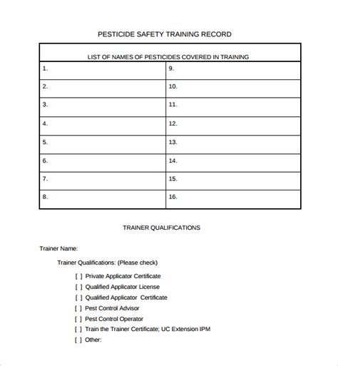 sle training roster template 7 free documents