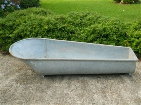 antique galvanized bathtub antique coffin bath tub antique metal vintage cowboy style