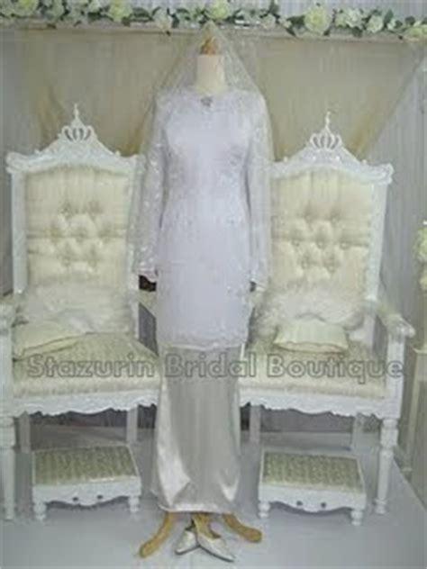 Baju Putih Nikah touch of sue hashim koleksi busana pengantin by stazurin bridal