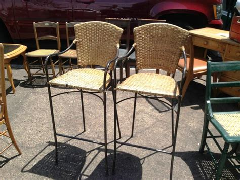 Vintage Rattan Bar Stools by Vintage Rattan Bar Stools Home Design Re Style Wicker