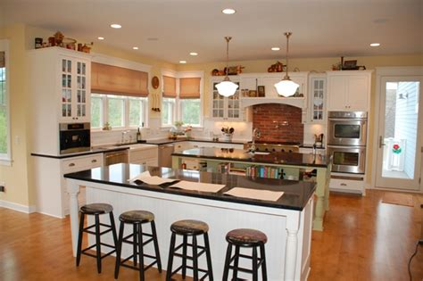 double kitchen island designs the main home design trends in 2015