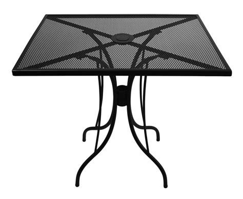metal mesh top patio table 24 quot x 32 quot galvanized steel mesh outdoor caf table top