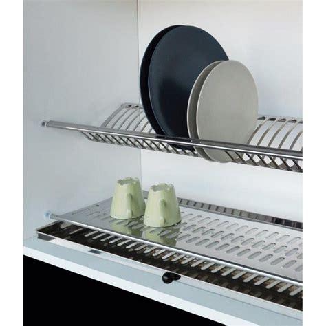 scolapiatti cucina corbetta scolapiatti in acciaio inox con vaschetta shop