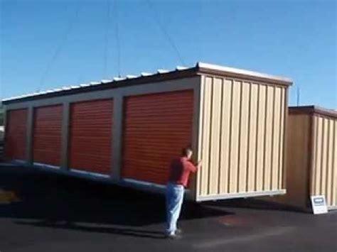 Mini Storage Shed Relocatable Self Storage Buildings