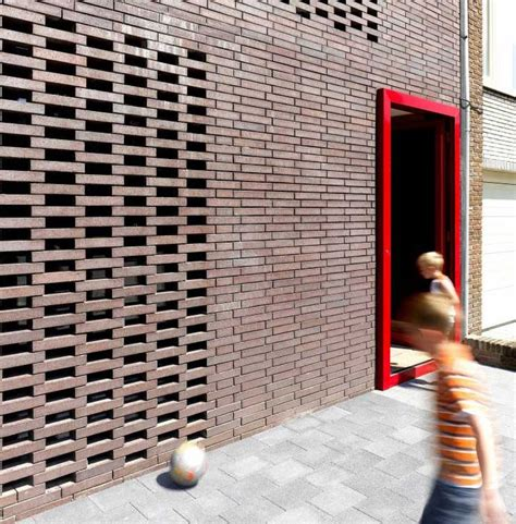 brick wall design 346 best images about perforated block screen wall on