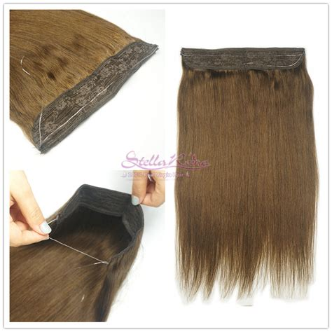 buy head crown extensions compare prices on hair chocolate brown online shopping