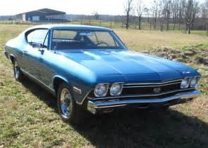 1968 chevrolet chevelle ss 396 2 door hardtop 64317