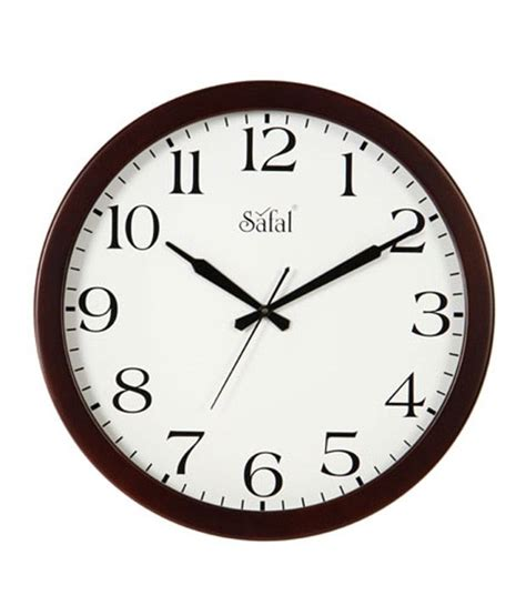 Best Office Wall Clock | safal office wall clock buy safal office wall clock at