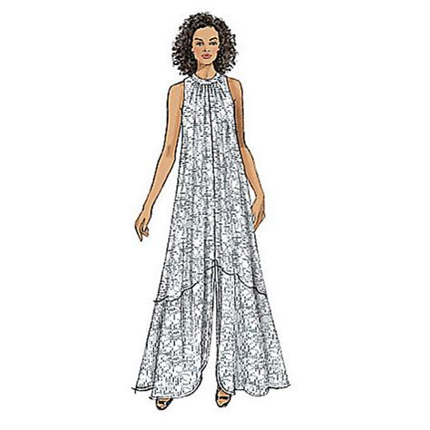 jersey dress pattern vogue buy vogue very easy women s slit hem maxi dress sewing