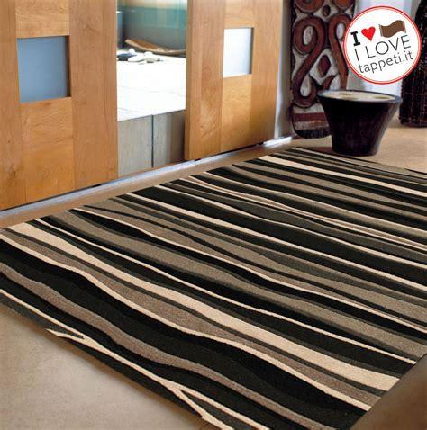 tappeti moderni grigio tappeto moderno onde grigio 187 il dei tappeti