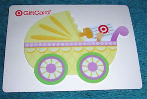 Add Money To A Target Gift Card - target gift card no cash value baby shower stroller collectible only