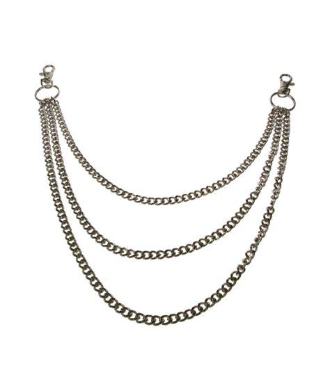 cadenas con significados cadena triple para cartera llaves house of rock