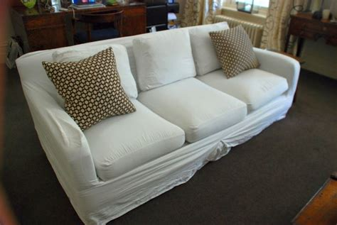high end slipcovers diy to look like high end slipcover