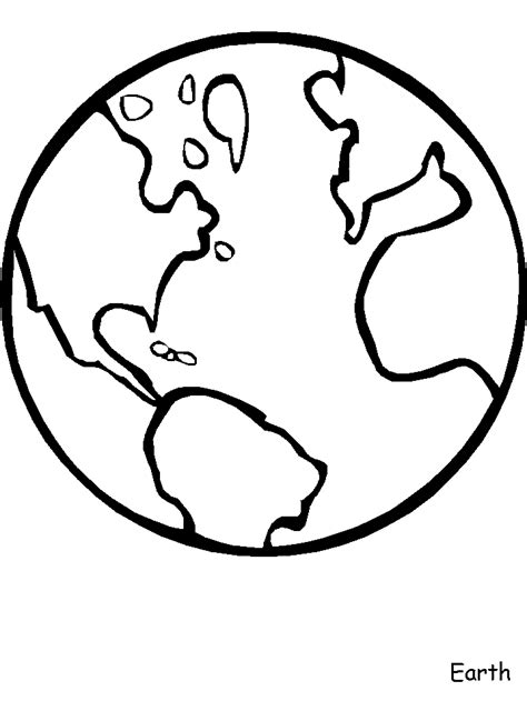 earth template you color my world