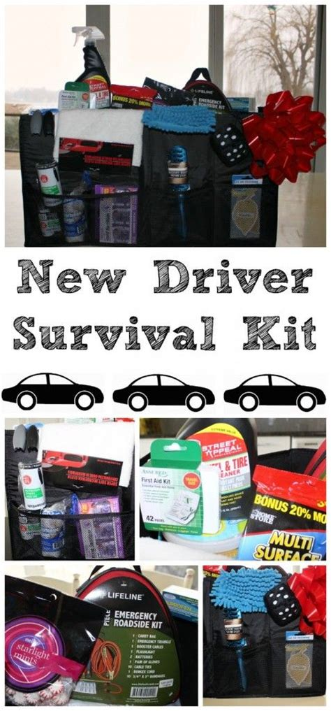 Great Gift Ideas The Best Kits Of The Season by New Driver Survival A Great Diy Gift For Your New Driver