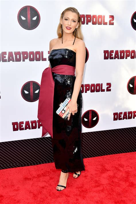 deadpool 2 carpet premiere lively and at the quot deadpool 2 quot new