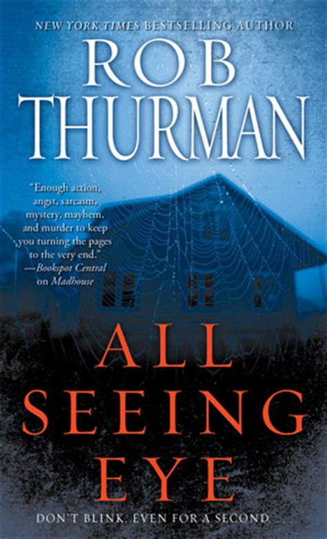 seeing books all seeing eye by rob thurman reviews discussion