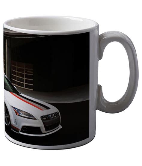 Yoshikawa Coffee Cup Mug Cangkir 350 Ml Snow artifa white audi supercar inspired coffee mug best price in india on 17th april 2018 dealtuno