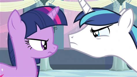 Image   Twilight & Shining Armor stare off S2E25.png   My