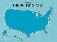 Powerpoint Maps Of The Usa United States Powerpoint Template