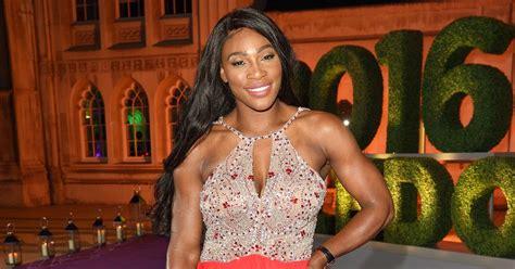 Catwalk To Carpet Serena Williams by Serena Williams Wins Carpet In Coral Dress At