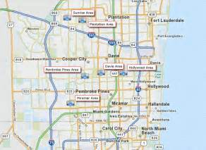 where is broward county in florida on a map broward county map new 1