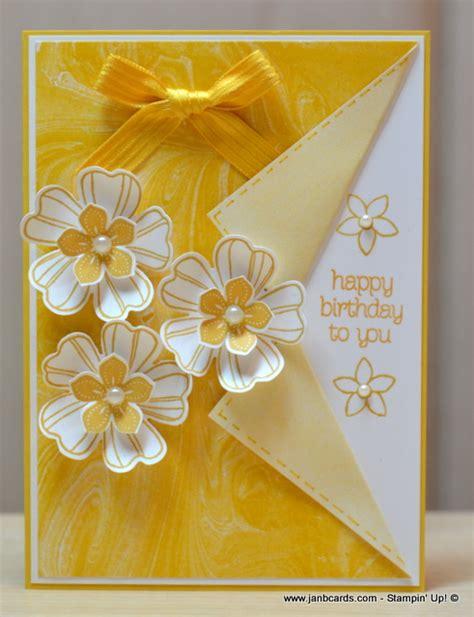 feminine birthday card templates janb handmade cards atelier feminine flowery collar fold card