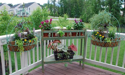 Deck Plants by Deck Ideas Www Outlawglam