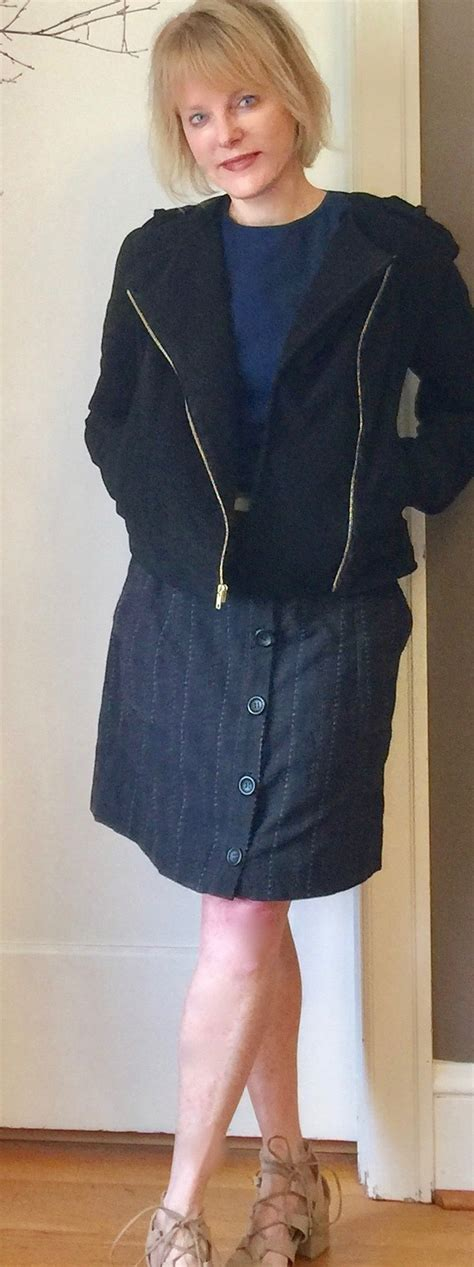 Pattern Review Moto Jacket | simplicity misses dress and moto jacket from mimi g style