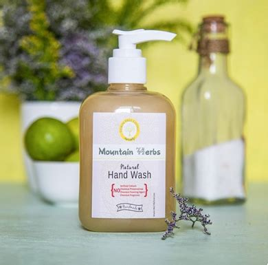 Handmade Wash - handmade wash 300 ml mountain herbs