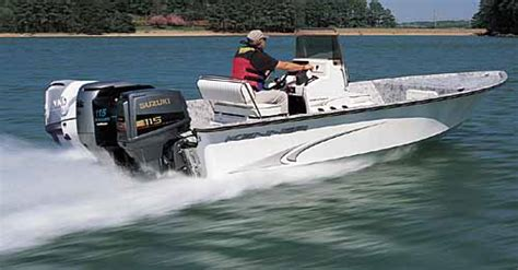 Kickers Alpha Two comparison test five outboard motors