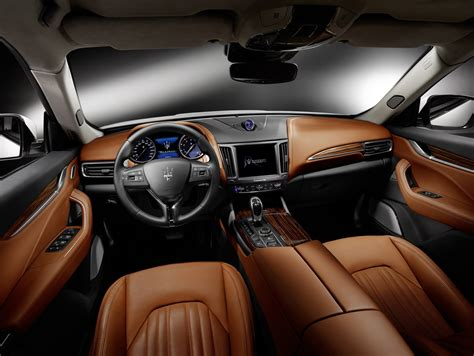 maserati levante interior new maserati levante suv detailed in geneva just as
