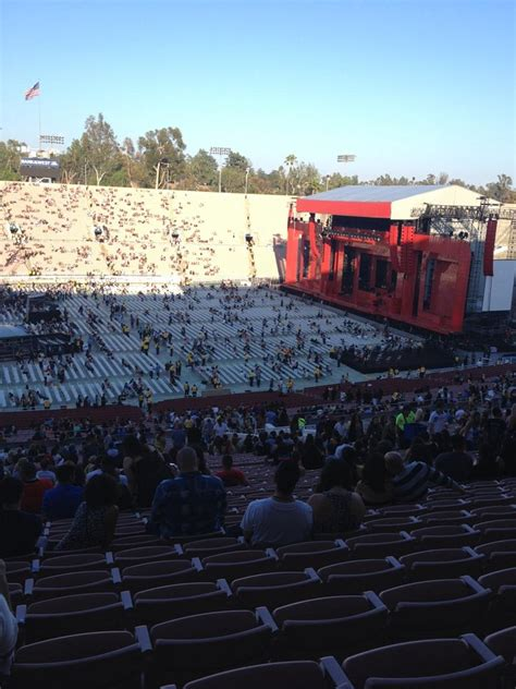 what is section 17 rose bowl stadium section 17 concert seating