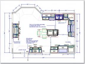 Kitchen Floor Plans With Island Kitchen Drafting Service Kitchen Design Plans
