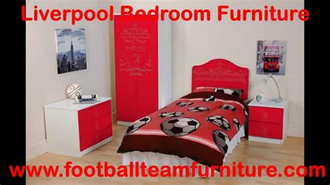 football furniture for bedrooms liverpool football bedroom furniture youtube