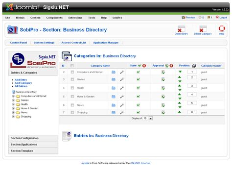 joomla templates for business directory sobipro directory component for joomla part 2 roberts
