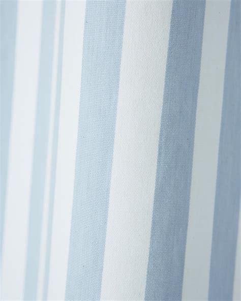vorhang blau weiß gestreift vorhang maritim