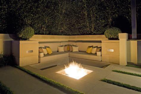 modern pit designs conversation areas leopard spots