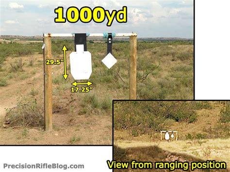 500 Yard Target Size by Rangefinder Binoculars Reviews Field Tests Ranging