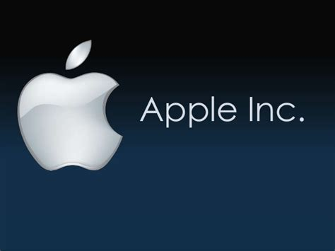 Apple Inc Presentatioin Apple Inc Powerpoint