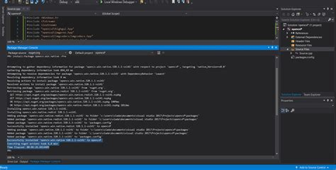 tutorial installing opencv library on visual studio windows simple install opencv visual studio 2017 by nuget fun