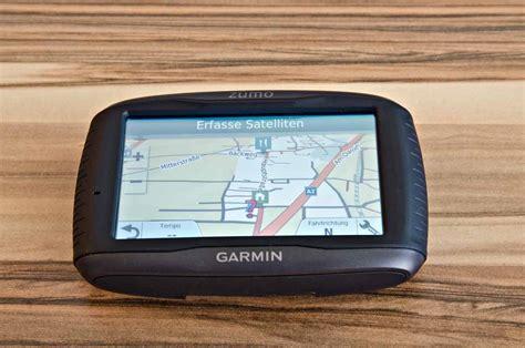 Garmin 5 Motorrad Navigator by Garmin Zumo 595lm Test Motorrad Navigation